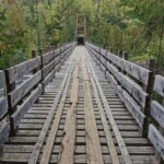 pont suspendu foret ouareau