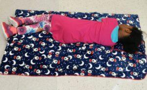 Doudou Sieste maternelle enfant repos