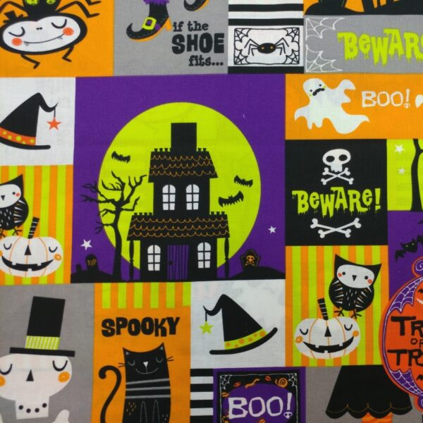 H05-Motif-Halloween-Maison-hantee-Multicolore-Au-fil-des-saisons