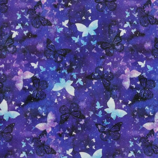 P19 - Motif - Papillons (mauve) - Au fil des saisons