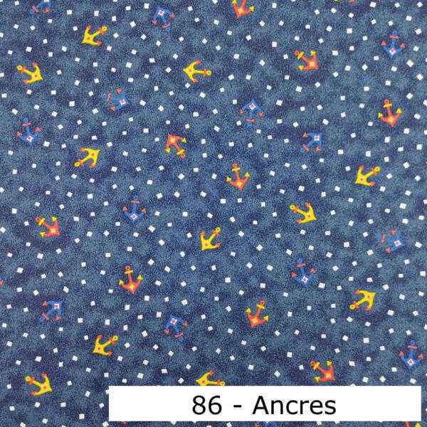 086 - Motif - Ancres (marine) - Au fil des saisons
