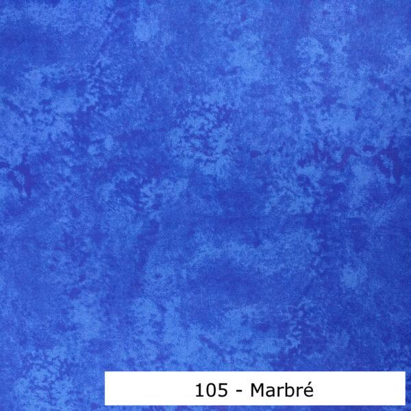 105 - Motif - Marbré (bleu) - Au fil des saisons