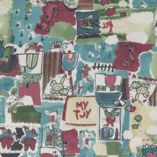 Motif pyjama Rabbit et chiens - Fait au Québec - Au Fil des Saisons