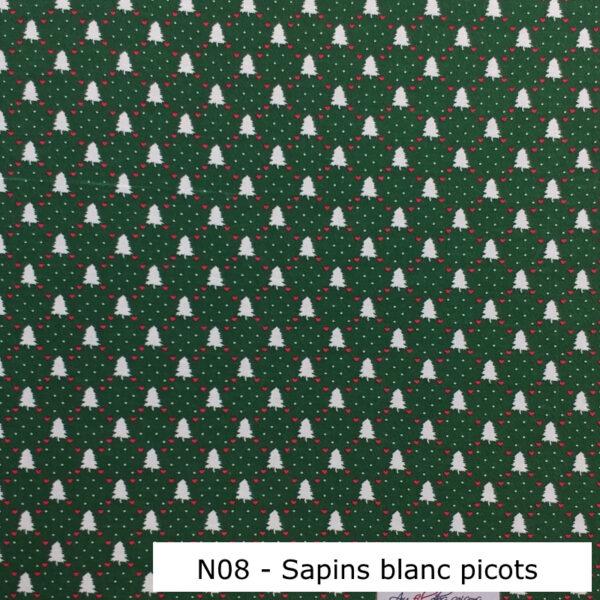 N08-Motif-Noel-Sapins-blancs-picots-Vert-Au-fil-des-saisons
