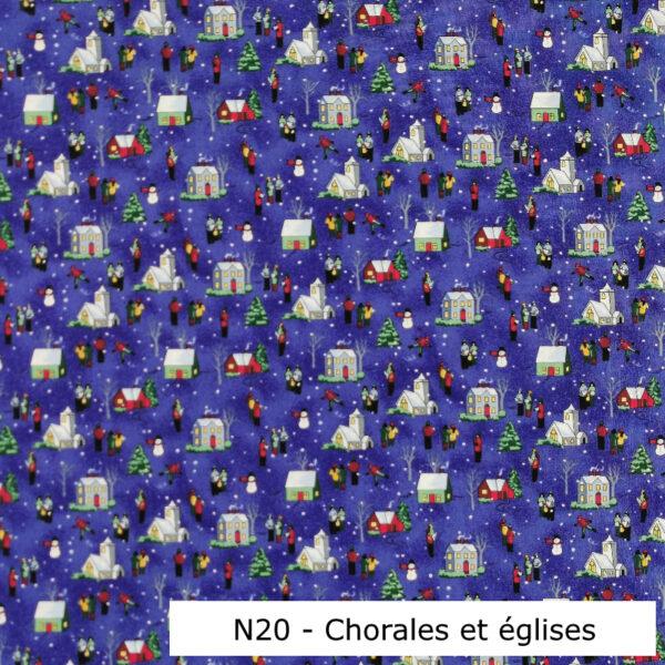 N20-Motif-Noel-Chorales-maison-et-Eglise-Bleu-Au-fil-des-saisons