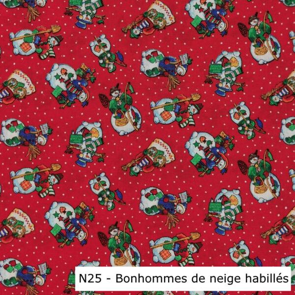 N25-Motif-Noel-Bonhommes-de-neige-habillés-rouge-Au-fil-des-saisons