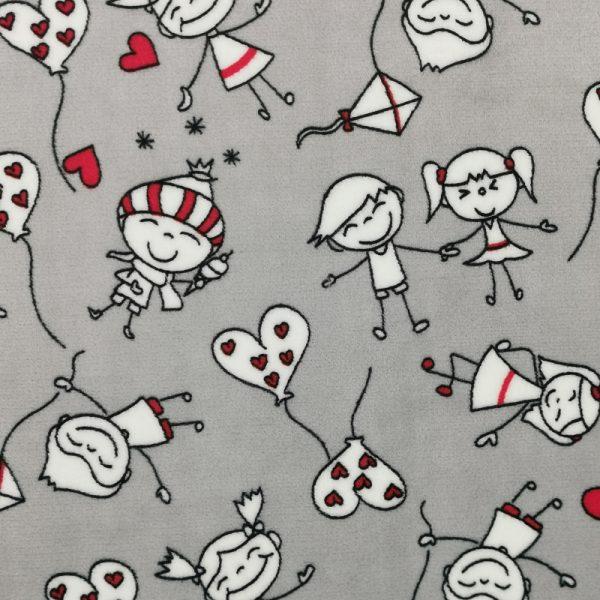 205-Motif-Coeurs-enfants-gris-Doudou-Sieste-Au-fil-des-saisons